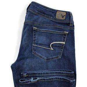 American Eagle Super Stretch Kick Bootcut Jeans